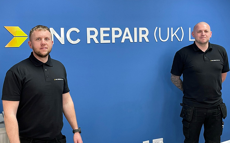 Expanding CNC Repair welcomes new engineers